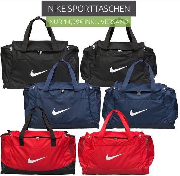 Nike Torba Club Team   Sporttaschen für 14,99€   Top!