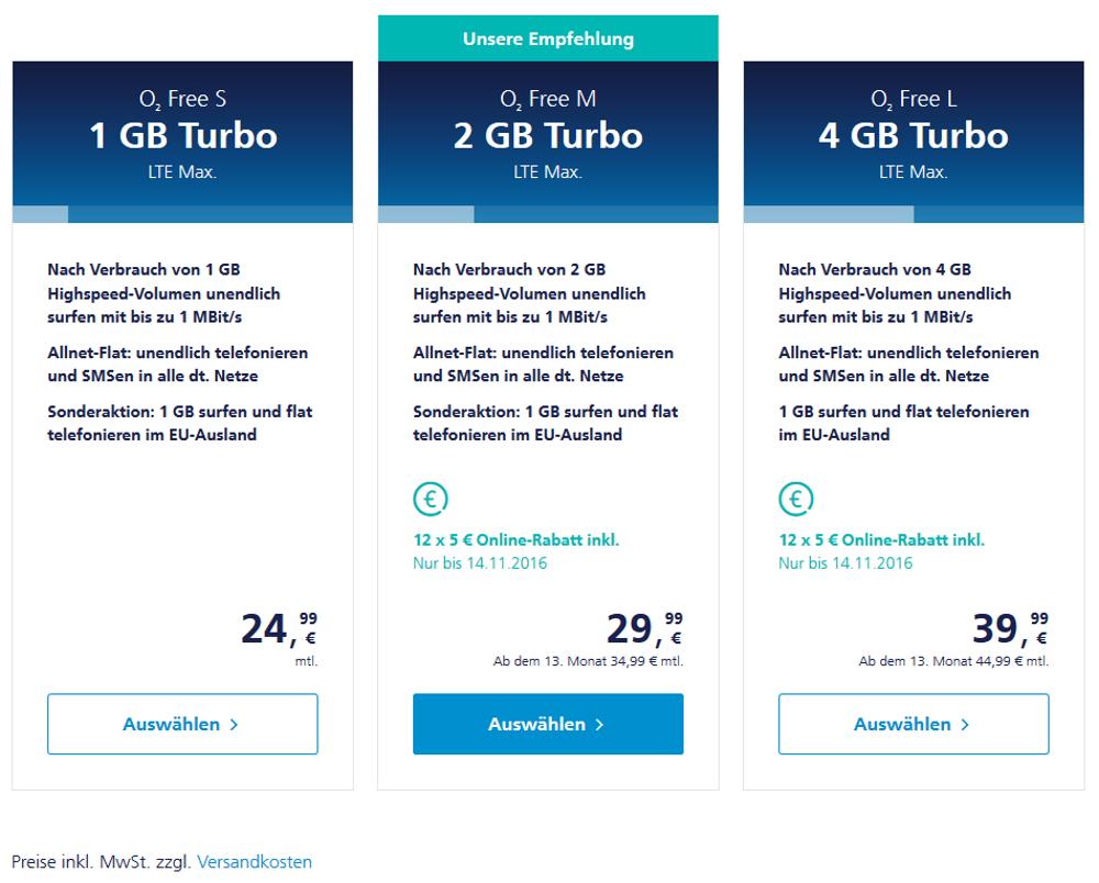 O2 günstige Tarife Die besten Mobilfunkanbieter   Das beste Handynetz
