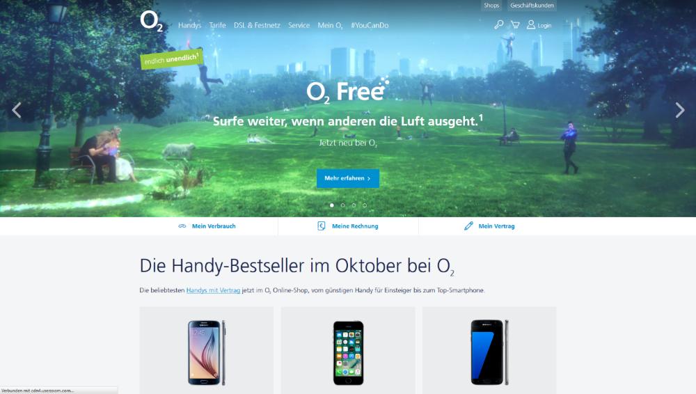 O2 Die besten Mobilfunkanbieter   Das beste Handynetz