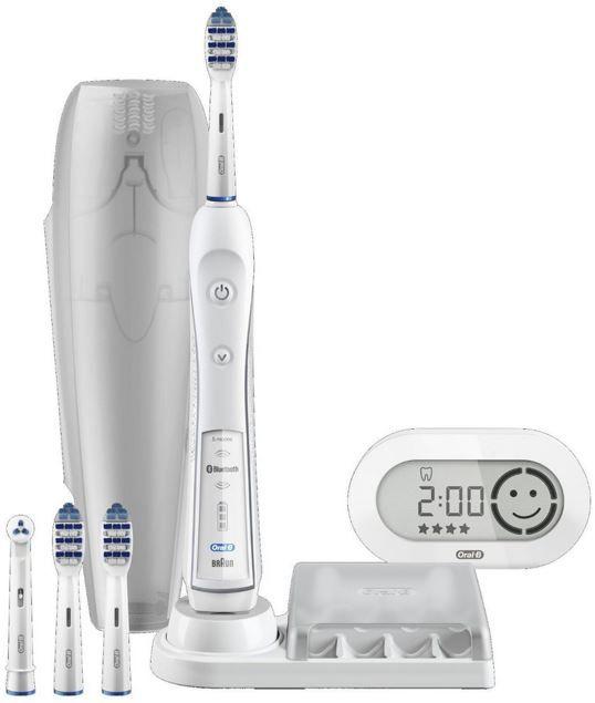 Oral B TriZone 6000 SmartSeries eZahnbürste mit Bluetooth für 79,90€ (statt 96€)