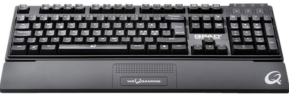 QPAD MK 80 MX Blue   blau beleuchtete mechanische Cherry Tastatur für 64,95€ (statt 100€)
