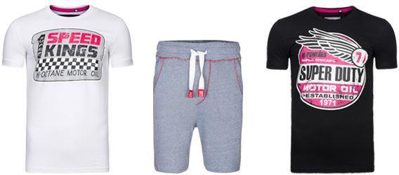 Spartans History Ausverkauf bei Outlet46   z.B. Basic Oval Herren T Shirts ab je 7,99€