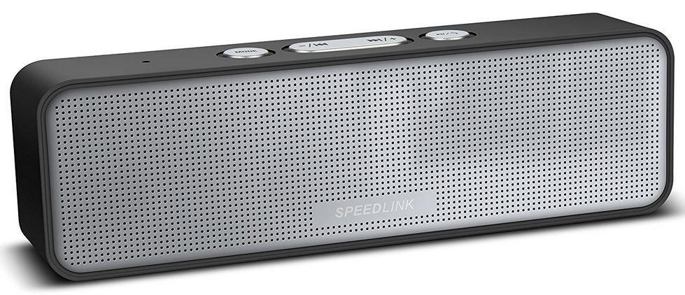 Speedlink AMPARO mobiler Stereo Speaker Speedlink AMPARO mobiler Stereo Speaker mit Radio für nur 14,99€   Ausverkauft!