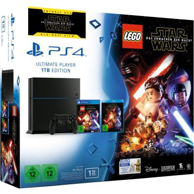 PlayStation 4   1TB [CUH 1216B] + Lego Star Wars + Film für 249€ (statt 299€)
