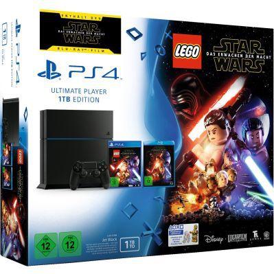 PlayStation 4   1TB [CUH 1216B] + Lego Star Wars + Film für 249€ (statt 299€)