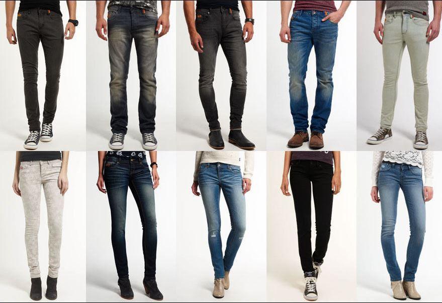 Superdry Herren und Damen jeans Superdry Damen und Herren Jeans viele Modell für je 29,95€