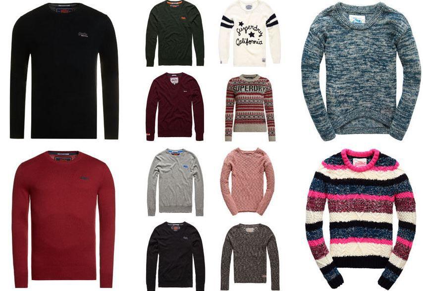 Superdry Pullover Superdry   Pullover für Damen und Herren für je 29,95€