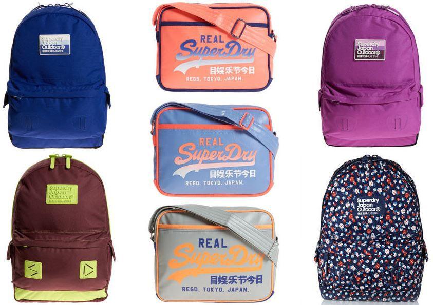 Superdry Taschen Superdry Taschen und Rucksäcke für je nur 22,45€ (statt 32€)