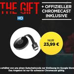 "Google Chromecast 2 + HD Stream ""THE GIFT"" für 23,99€ (42€)"