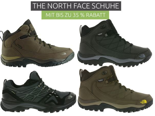 The North Face Outdoor Schuhe ab 68,46€