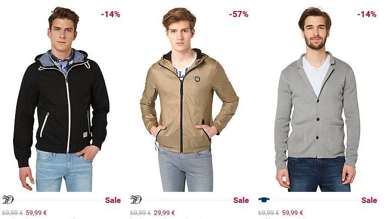 TomTailor sofort Rabatt Aktion Tom Tailor heute mit 26% Rabatt auf alles   auch im Sale!