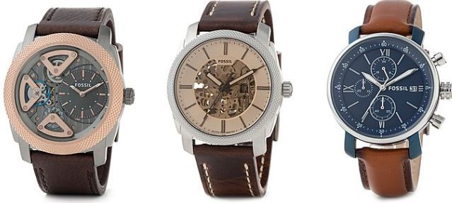FOSSIL Sale mit bis zu 50% auf Uhren, Taschen & Accessoires für Damen und Herren