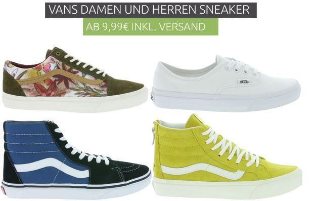 Vans Sneaker Angebot Vans Sneaker   für Damen und Herren im Outlet46 Sale ab 9,99€