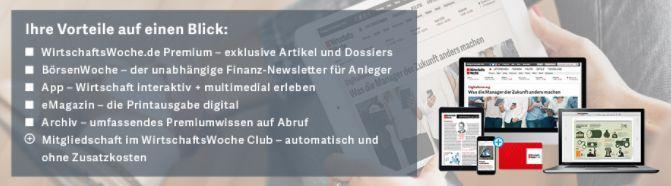 Jahresabo Wirtschaftswoche ePaper gratis – endet automatisch!