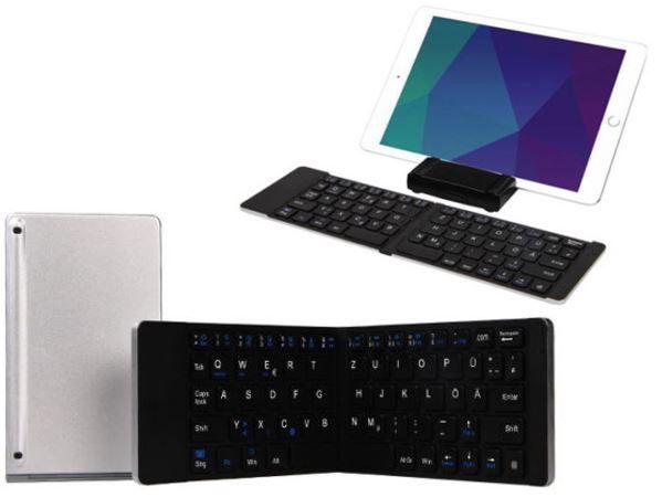 Xlyne BI FOLD GOX22   klappbare Bluetooth Tastatur für 29,99€