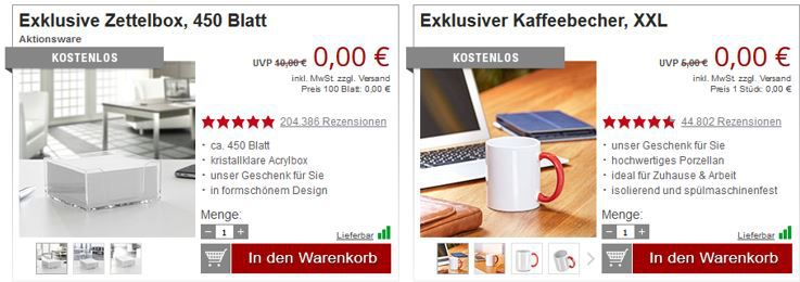 Zettelbox Virtual Reality Brille für alle Smartphones bis 6,3 für 10,94€