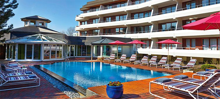 2, 4 o. 6 ÜN in St.Peter Ording im 5* Hotel inkl. Frühstück & Wellness ab 129€ p.P.