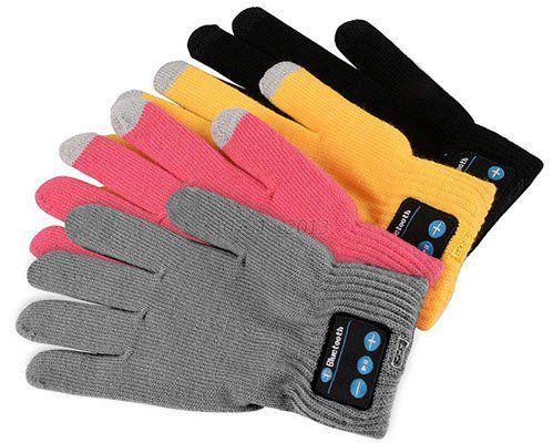 Touchscreen Handschuh mit Bluetooth, Mikrofon & Lautsprecher für 5,65€