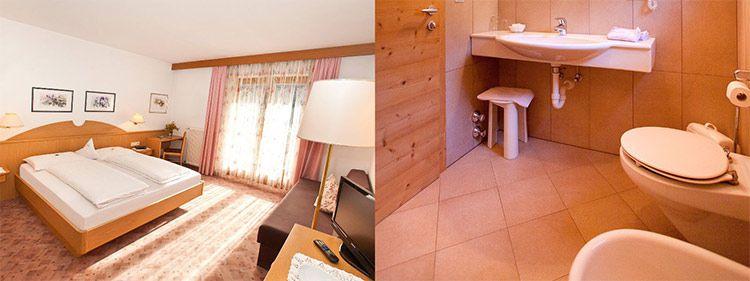 alpenhof zimmer 1 ÜN in Südtirol inkl. HP & Sauna für 62€ je DZ