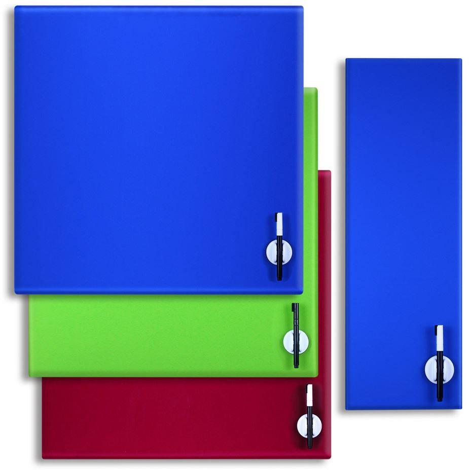 büroMi   beschreibbare Glas Magnettafel für 14,99€