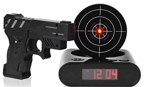 bang clock Zielscheiben Wecker für 14,53€