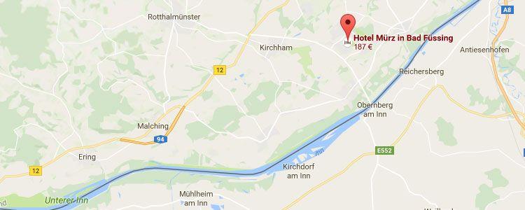 bas map 2 ÜN in Bad Füssing inkl. Verwöhnpension & Wellness ab 169€ p.P.