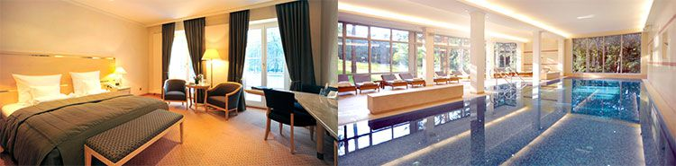 bay haus potsdam 2 ÜN in Potsdam im 5* Hotel inkl. Frühstück & Wellness (1 Kind bis 6 kostenlos) ab 129€ p.P.