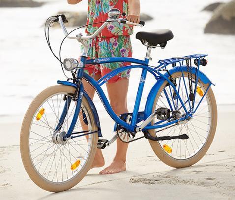 Beachcruiser 26 Fahrrad mit 3 Gang Nabenschaltung für 159€ + VSK frei