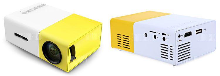 YG 300 LED Beamer für 31,15€   aus EU Lager