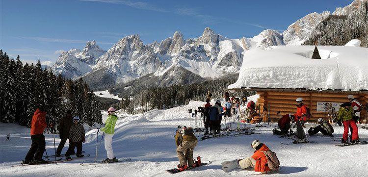 cavalese tease 3 oder 4 ÜN im Winter in Südtirol im Appartment inkl. Hallenbad & Fitness (3 Kinder kostenlos) ab 56,50€ p.P.