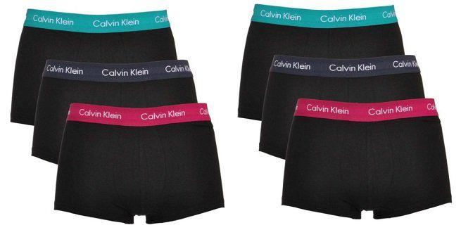 6er Pack Calvin Klein Boxershorts für 29,95€ (statt 60€)