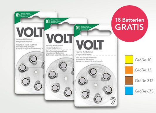 gratis batt t Gratis Hörgerätebatterien   Testen & Bewerten