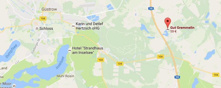 gremmelin map 2 ÜN in Mecklenburg Vorpommern inkl. HP & Sauna ab 99€ p.P.