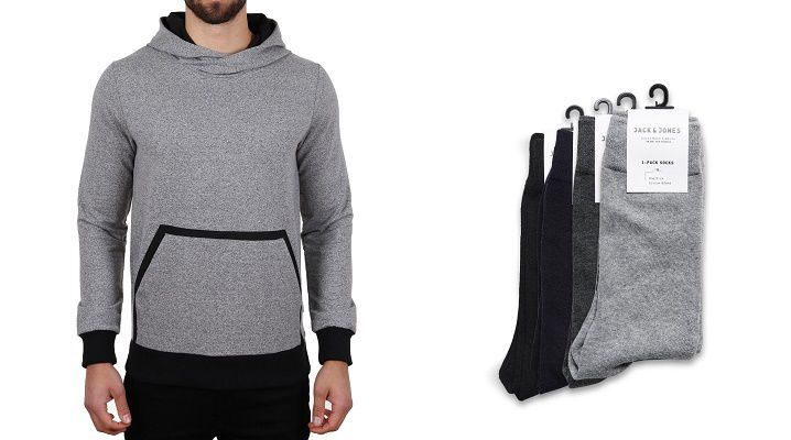 jack and jones wallen sweat hoodie grau 175983 01 30% Rabatt auf ausgewählte Marken bei Hoodboyz