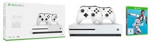 Xbox One S 1TB + 2. Controller + Fifa 19 für 249€ (statt 339€)
