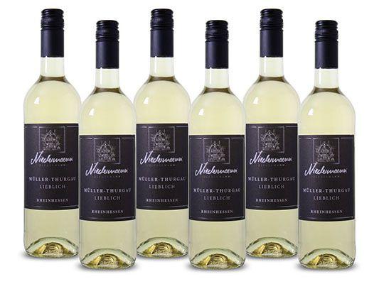 niedermann weiss 6 Flaschen Niedermann Müller Thurgau Weißwein für 16,06€