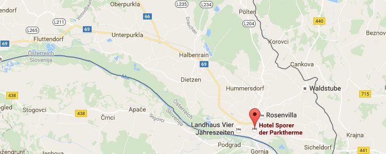 parkt map Last Minute: 2 ÜN in der Steiermark inkl. Frühstück, Dinner & Thermenbesuch (1 Kind bis 5 kostenlos) ab 145€ p.P.