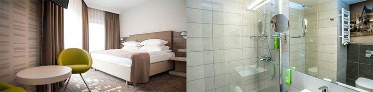 q hotel breslau zimmer1 2 ÜN in Heidenheim inkl. Frühstück, Dinner, Wellness & Massage (2 Kinder bis 5 kostenlos) ab 145€ p.P.