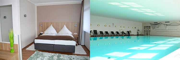 rhoen residence zimmerjpg 2 ÜN in der Rhön inkl. HP, Massage & Wellness ab 109€ p.P.