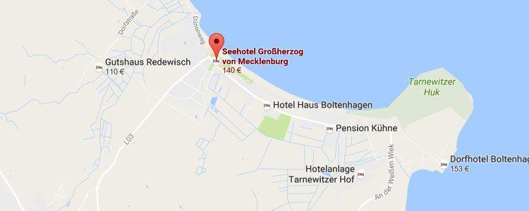 seehotel map 2 ÜN an der Ostsee inkl. Frühstück, Dinner & Wellness ab 129€ p.P.
