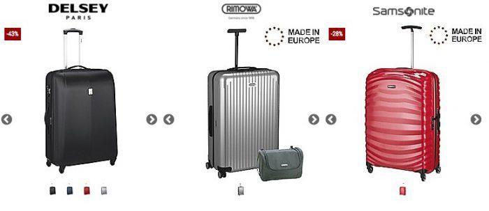 Koffer direkt mit 15% Gutschein auf alle Koffer ab 249€ + 5% bei Vorkasse