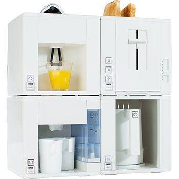 Princess Compact4All Früchstücksset aus Toaster, Wasserkocher, Zitrupssresse & Kaffeemaschine für 49,99€ (statt 120€)