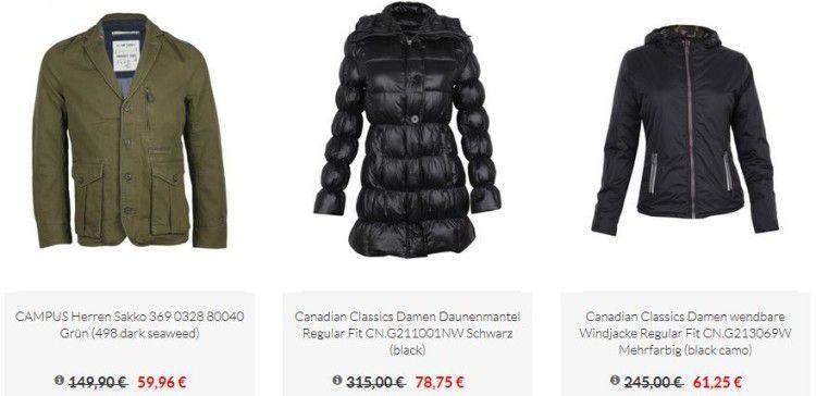 Zengoes mit 75% Rabatt im Jacken Sale