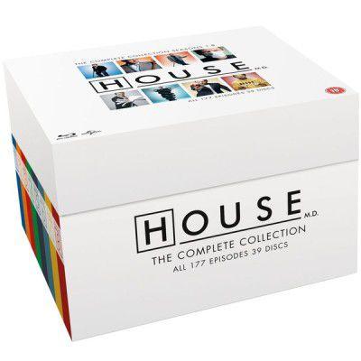 Dr. House   die komplette Serie auf 48 Blu ray für 38,96€ (statt 89€)