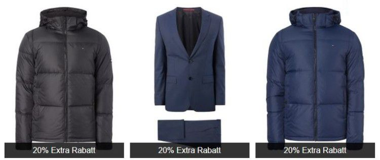 Großer Peek & Cloppenburg* Advents Sale + 20% Rabatt   Hilfiger, Naketano, Boss uvm.