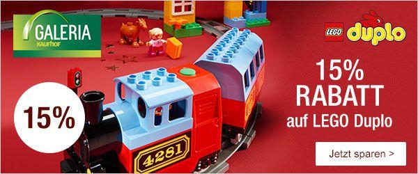 15 prozent lego duplo LEGO Duplo mit 15% Rabatt @Galeria Kaufhof