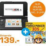 3DS XL Blau & Super Mario Maker für 139€ und mehr günstige Angebote im Saturn Weekend Sale