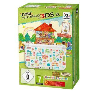 New Nintendo 3DS XL + Animal Crossing Happy Home Designer für 131,75€ (statt 179€)