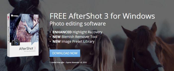Corel AfterShot 3 kostenlos   endet heute