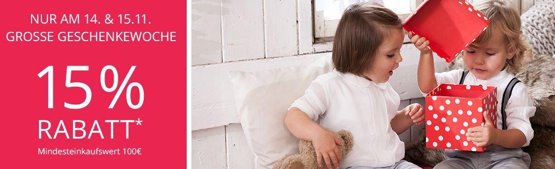 Baby Walz mit 15% Rabatt ab 100€   günstige Windeln, Babymoden, Sitze.....